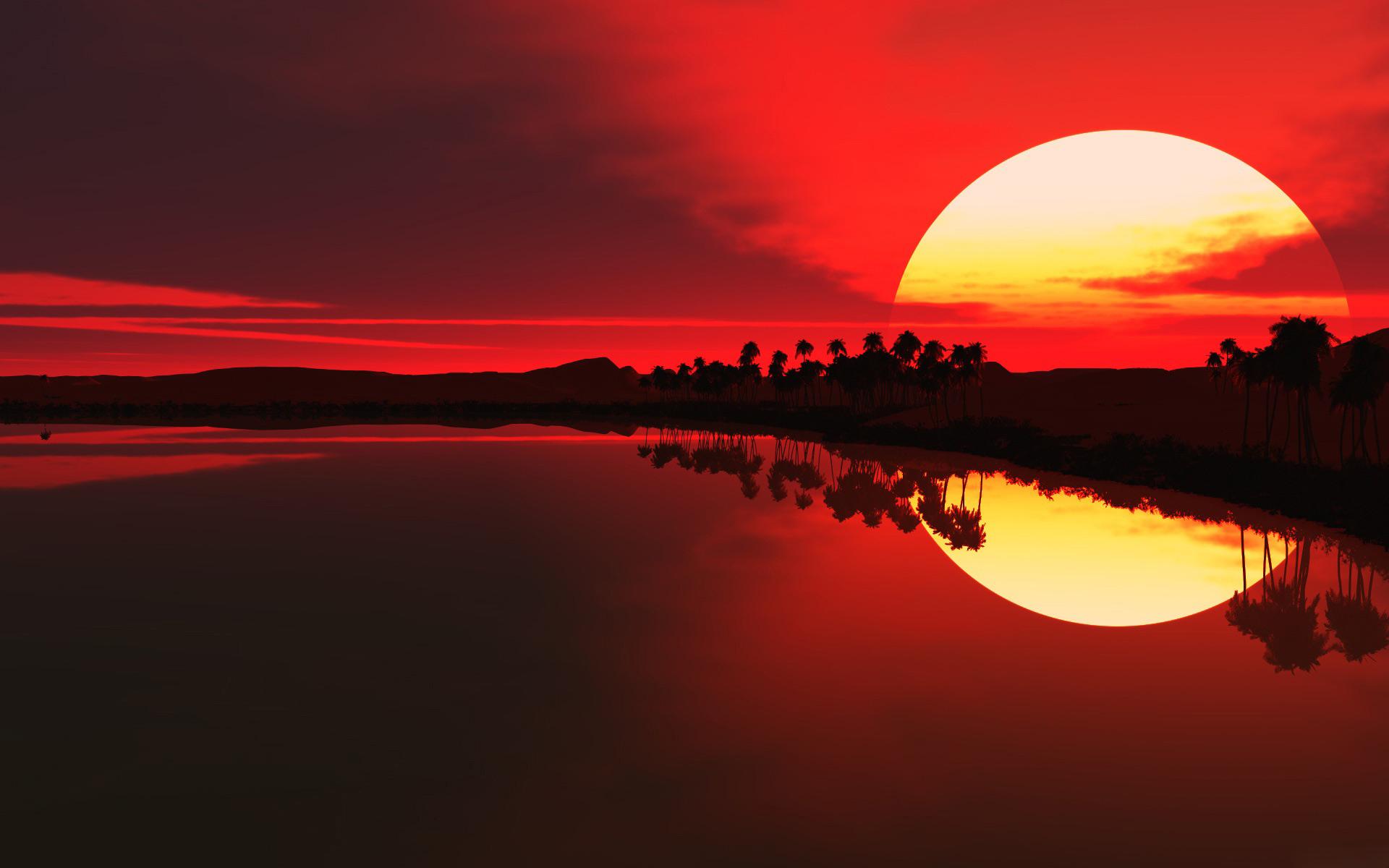 African-Sunset-Desktop-Wallpaper